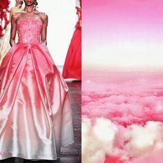 "Blog PHOTO & L' ART • Naeem Khan S/S 2016. Photo via naeemkhan.com • & • ""Pink dreams"" (tumblr) • Dress: @naeemkhannyc #NaeemKhan Collage by @l_i_ll_i_u_m All collages by tag #LiliyaHudyakova"