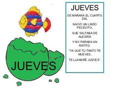 Una semana en el nido Spanish Songs, Preschool Education, Kindergarten, Activities, Google, Homeschooling, Kids Calendar, Flower, Toddler Activities