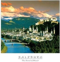 Salzburg-one of the most beautiful cities I've ever seen. 1972 and 1996 Oh The Places You'll Go, Places Ive Been, Places To Visit, Naples, Wyoming, Budapest, Us Travel, Places To Travel, Amsterdam