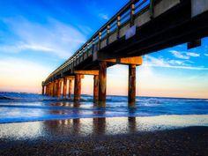 """Sunset St. Augustine Beach. #igersjax #igersdaily #postdaily #jaxrevealed  #florida #jaxflorida #lovefl #staugustine #staugustinebeachpier #sunset…"""