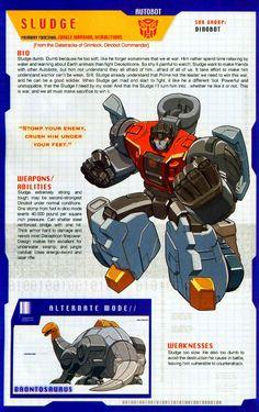 Transformer of the Day: Sludge