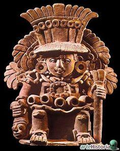 Xipe Totec. Cultura Zapoteca (Monte Albán, México)
