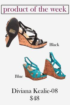 Diviana Kealie-08 Wedge // Pretty Little Shoes