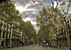 Las Ramblas District in Barcelona...been there and loved it!