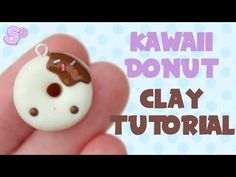 ▶ Kawaii Donut | Polymer Clay Tutorial - YouTube