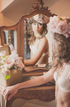 Fairytale Wedding Editorial | Part 2 | Wedding Planning Vancouver | Kailey Michelle Events photos by FRESH photos   #vintage #Bride #gettingready