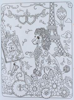 Amazon.com: Creative Haven Dazzling Dogs Coloring Book (Adult Coloring) (0800759803828): Marjorie Sarnat: Books