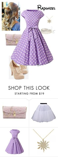 """Dapper Day - Rapunzel"" by briony-jae ❤ liked on Polyvore featuring Dolce&Gabbana and Allurez"