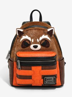 01d94705187 This Rocket Raccoon backpack will steal your heart    Loungefly Marvel  Guardians Of The Galaxy. HotTopic