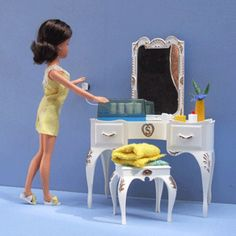 my Cindy doll had a fabulous house with a lift on the the side, a wardrobe full of outfits she had a pony of course.
