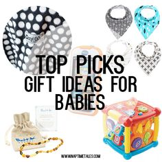 AWESOME gift ideas for babies!