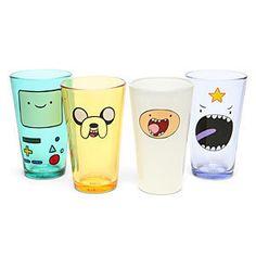 Adventure Time Face Pint Glass Set ($29.99)
