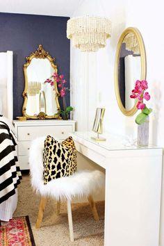 Dekorativer Kronleuchter Für Das Schlafzimmer Selber Machen Blumen Spiegel, Kronleuchter  Schlafzimmer, Deko Ideen,
