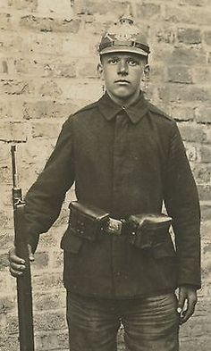 WWI, 1917, German soldier