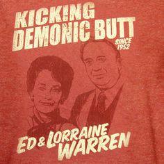 Ed and Lorraine Warren, Kicking Demonic Butt since 1952!