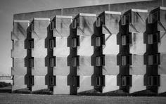 Andrew Melville Hall of Residence, St. Andrews University, 1964  (James Stirling)