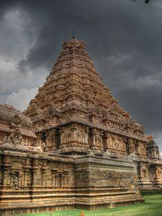 Gangaikondacholapuram Temple, Poonthottam, India