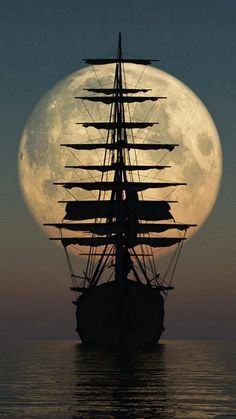 Brown ~ mighty sailing ship - this is a photo - I would love to paint it.Brown ~ mighty sailing ship - this is a photo - I would love to paint it. Beautiful Nature Wallpaper, Beautiful Moon, Wallpapers Of Nature, The Best Wallpapers, 4k Phone Wallpapers, Boat Wallpaper, Old Sailing Ships, Ocean Sailing, Ship Paintings