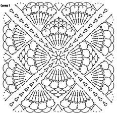 New crochet heart blanket granny squares patterns 39 Ideas Crochet Cowl Free Pattern, Crochet Shoes Pattern, Crochet Motif Patterns, Crochet Headband Pattern, Crochet Blocks, Granny Square Crochet Pattern, Crochet Diagram, Crochet Chart, Crochet Squares