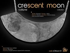 Collana Crescent Moon Collection. By Recykart