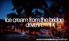 Get ice cream from the Bridge Drive In within Canada - 766 Jubilee Ave, Winnipeg, MB Canada Canadian Things, City Scapes, True North, Good Ole, Summer Evening, Love You So Much, Peru, The Good Place, Real Life