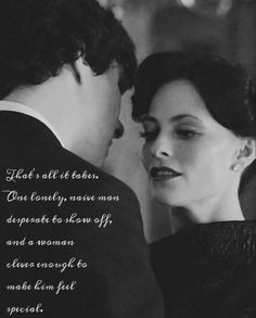 Sherlock and Irene Adler 221B. ✨