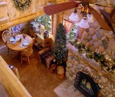 Our honeymoon cabin at Annie's Mountain Retreat :)