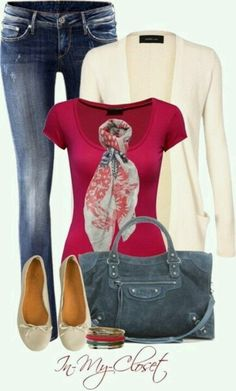 My style, me, head to toe! Except a skirt instead of jeans