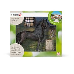 Schleich North America Frisian Horse Care Set ** Check this awesome product by going to the link at the image.