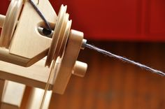 Short Draw Spinning on a Wheel Posted by Laura Chau