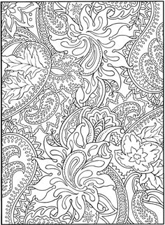Coloring pages for grown-ups!