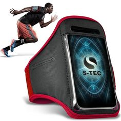 Samsung Galaxy Core LTE Armbands - ( Red ) Universal Sports Running Action Mobile Phone Armband Holder: Amazon.ca: Cell Phones & Accessories