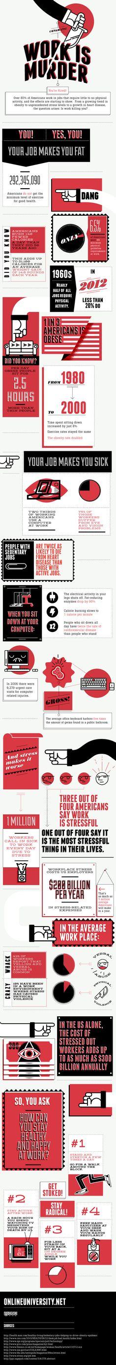 [Infographic] Werken is gevaarlijk