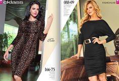 vestidos Cklass otoño invierno 2015 : Mexico y Usa