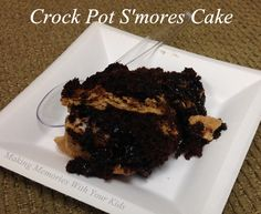 Could life get any more crazy? Not for us. So when I remembered it was a co-worker's birthday on Monday I knew I had to make an easy dessert. And is there anything easier than a crock pot recipe? I'll answer that for you – no way! I absolutely love my crock pot. So easy, …