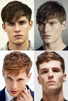 Hairstyles For Men According To Face Shape Fair Men's Hairstyleshaircuts For Diamond Face Shapes  Cosmo Stuff