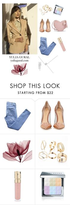 pERFECT dAY, pERFECT lOOK by yuliagural on Polyvore featuring 7 For All Mankind, Gianvito Rossi, Bobbi Brown Cosmetics and Smith & Cult Blazer With Jeans, Bobbi Brown, Outfit Of The Day, Cosmetics, Polyvore, Outfits, Fashion, Today's Outfit, Moda