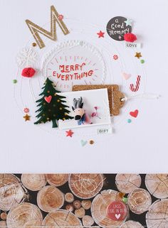 LAYOUT - M(MERRY) by EyoungLee at @studio_calico