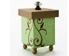 An elegant cache for your important possessions. Created using Folkart paints. Decoupage, Cardboard Crafts, Wood Crafts, Small Wooden Boxes, Altered Boxes, Diy Craft Projects, Craft Ideas, Painted Boxes, Stencil Painting