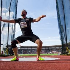 German Athletics Championships - Discus throwing event