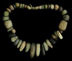 Necklace from Niger - Amazonite - lenght - 62cm