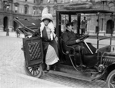 Taxi in PAris - 1911