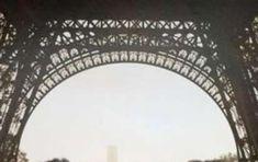 Fotografia e illusioni ottiche, esempi incredibili - Volto triste di Parigi