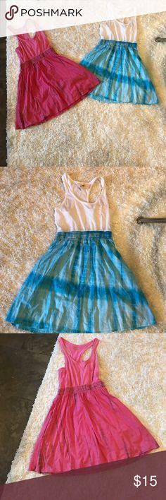 Junior dress bundle Junior dress bundle. Set of 2 racerback tie-dye dresses Dresses Midi