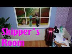 Barbie - How to make Skipper's Room - YouTube