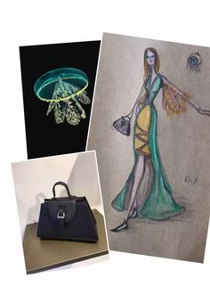 Design #17 of my 30 Days of November Designing with Meli Melo bags as a base of inspiration
