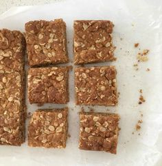 Although we love Anzac Biscuits, this Thermomix Anzac Slice Recipe is one of our favourites too! This Thermomix Anzac Slice recipe makes a great snack for Lunch Box Recipes, Lunchbox Ideas, Anzac Biscuits, Muesli Bars, Biscuit Recipe, Tray Bakes, Afternoon Tea, Food Print, Sweet Recipes