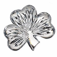 "Waterford Crystal 4"" Shamrock Collectible #40003420 NIB #Waterford"