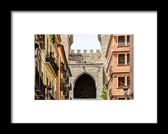 Torres Towers De Quart In Valencia Framed Print