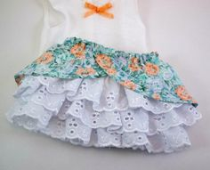 American Girl 18 inch Doll Clothes Ruffled by snowflakeboutique, $20.00